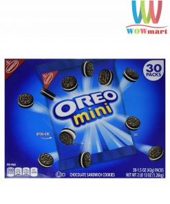 Bánh Oreo Mini Chocolate Cookies Nabisco 30 gói 1.26kg