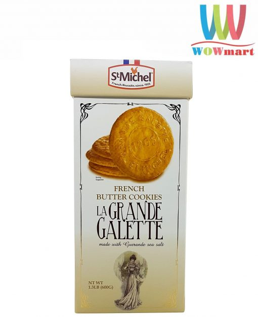 Bánh quy bơ St Michel La Grande Galette 600g