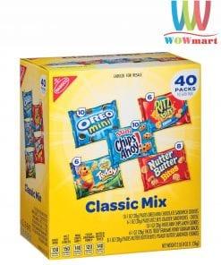 Bánh quy tổng hợp 5 loại Nabisco Classic Mix 40 gói 1.12kg