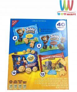 Bánh thú 4 loại Nabisco 40 Pack 1.12kg
