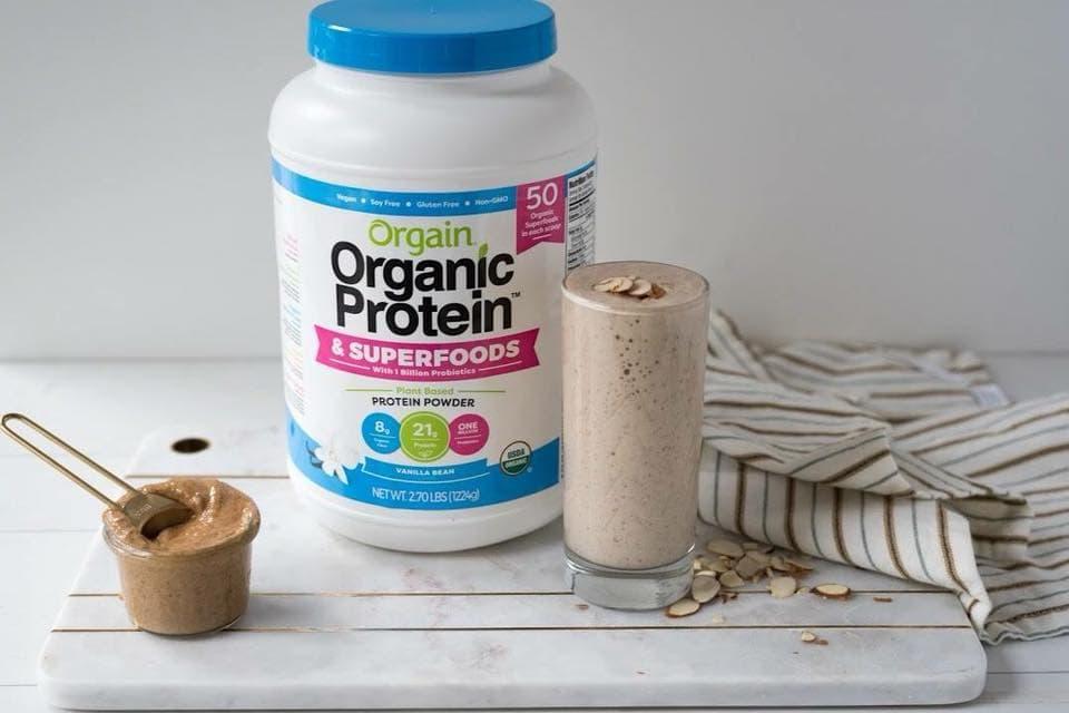 Bột dinh dưỡng Orgain Organic Protein & Superfoods 1224g hương vani