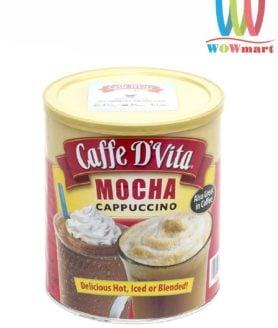 Cafe hòa tan Caffe D'Vita Mocha Cappuccino 1.8kg