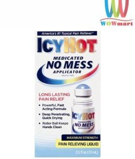 Dầu nóng dạng lăn Icy Hot Medicated No Mess Applicator 73ml