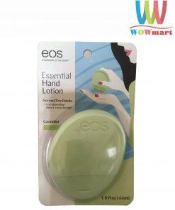 Dưỡng da tay EOS Essential Hand Lotion Cucumber 44ml