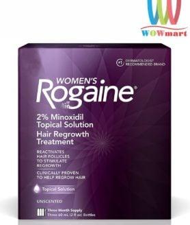 Gel mọc tóc dành cho phụ nữ Women's Rogaine 60ml Hộp 3 chai
