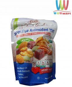 Hạt sấy khô tổng hợp Nature's Garden Super Fruit Antioxidant Mix 680g