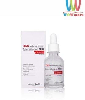 Huyết thanh trắng da Angel's Liquid Perfect Glutathione 700 V-ample 30ml mẫu mới