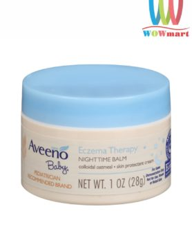 Kem bôi Aveeno trị chàm ở trẻ em Aveeno Baby Eczema Therapy Nighttime Balm 28g