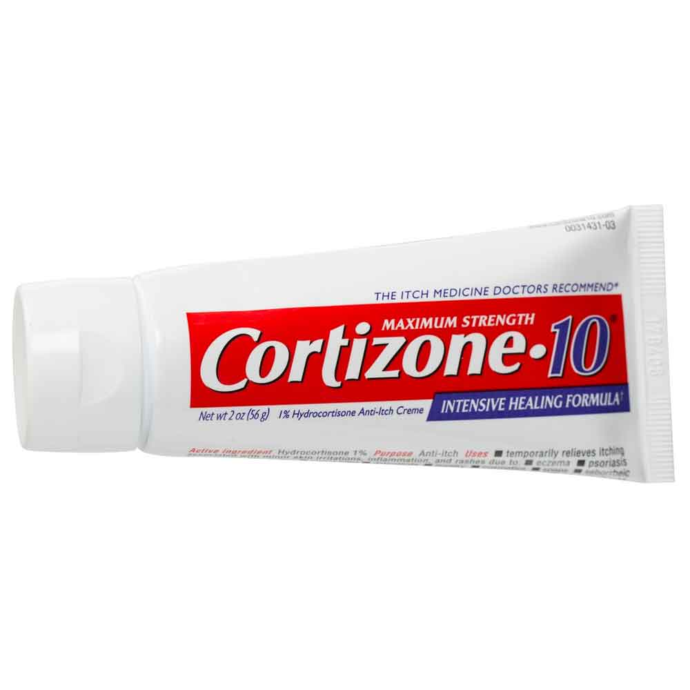 Kem bôi trị chàm, vẩy nến, dị ứng Cortizone 10 Maximum Strength Itch Relief 56g