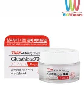 Kem dưỡng trắng da Angel's Liquid 7 Day Glutathione 700 V-Cream 50ml