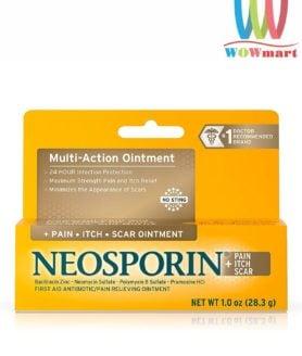 Kem mỡ trị bỏng, kháng viêm ngứa, liền sẹo Neosporin Multi-Action Ointment 28.3g
