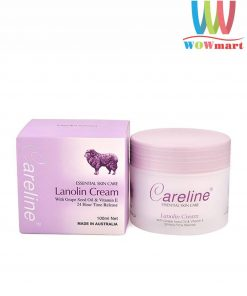 Kem nhau thai cừu Úc Careline Lanolin Cream 100ml