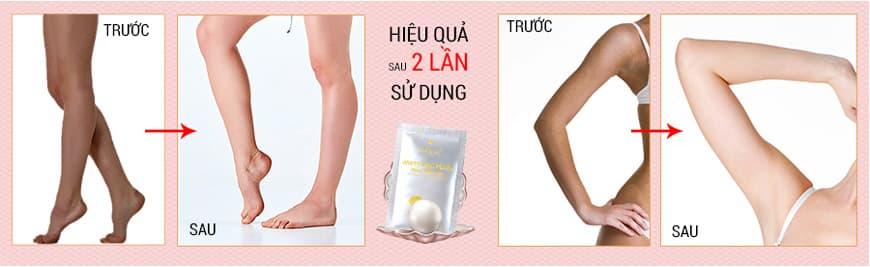 Kem tắm trắng ngọc trai tơ tằm Sakura Pearl Silk Rich Special Whitening Cream 110g
