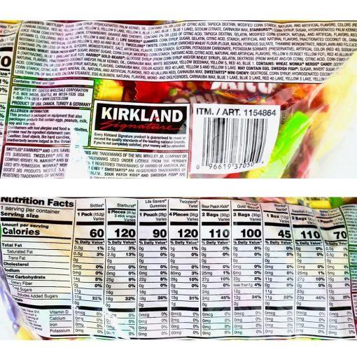 Kẹo Mỹ gói khổng lồ Kirkland Signature Funhouse Treats Assorted Candies 2.61kg