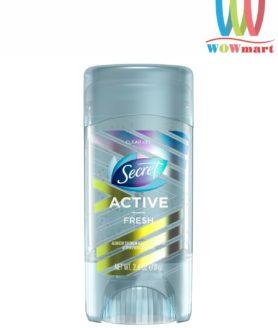 Lăn khử mùi Secret Active Fresh Clear Gel 73g