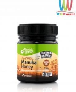 Mật ong Absolute Organic Australian Manuka Honey 250g