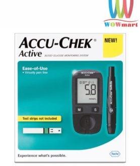 Máy đo đường huyết Accu-Chek Active bộ 10 que thử