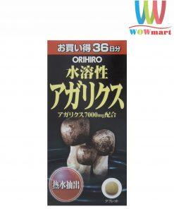 Nấm Thái Dương Orihiro Agaricus 7000mg Nhật Bản 432 viên