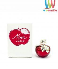 Nước hoa nữ Nina L'Elixir Ricci Eau De Parfum 4ml chai mini