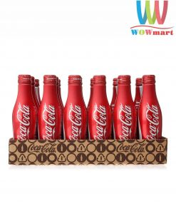 Nước ngọt Coca-Cola Mỹ chai nhôm 251ml 24 chai