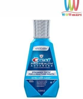 Nước súc miệng Crest Pro-Health Advanced Mouthwash 1L