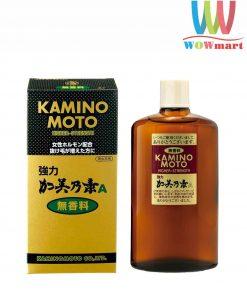 Serum dưỡng kích thích mọc tóc Kaminomoto Higher Strength Nhật Bản 200ml