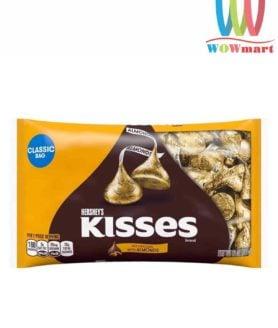 Socola Kisses hạnh nhân Hershey's Kisses Milk Chocolate With Almonds 311g new