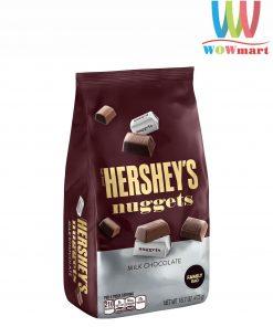 Socola sữa Hershey's Nuggets Milk Chocolate 473g