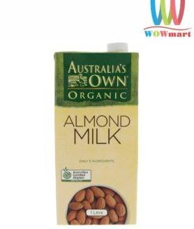 Sữa hạnh nhân Australia's Own Organic Almond Milk 1L