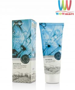 Sữa rửa mặt Collagen 3W Clinic Collagen Cleansing Foam 100ml