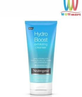 Sữa rửa mặt Neutrogena Hydro Boost Exfoliating Cleanser 141g