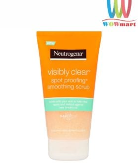 Sữa rửa mặt trị mụn Neutrogena Visibly Clear Spot Proofing Smoothing Scrub 150ml