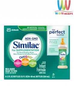 Sữa Similac nước cho trẻ 0-12 tháng Similac For Supplementation Infant Formula 59ml x6 ống