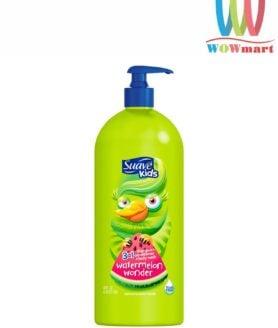 Sữa tắm gội xả cho bé Suave Kids 3 in 1 Watermelon Wonder 1.18L