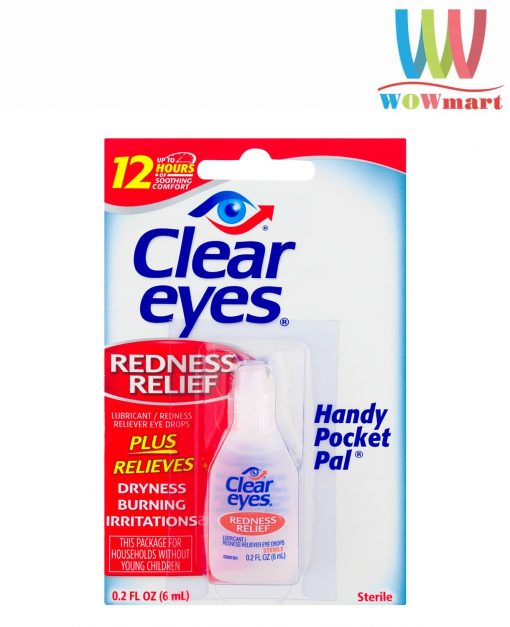 Thuốc nhỏ mắt Clear Eyes Redness Relief 6ml