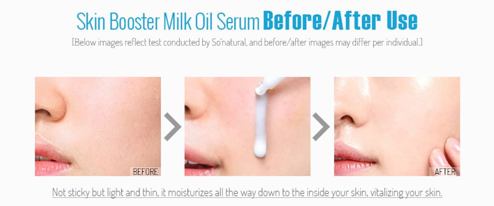 Tinh chất kích trắng da Skin Booster Milk Oil Serum 30ml