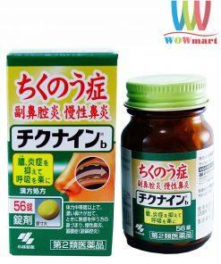Viên uống đặc trị viêm xoang Kobayashi Chikunain Nhật Bản 56 viên