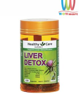 Viên uống giải độc gan Healthy Care Liver Detox 100 viên