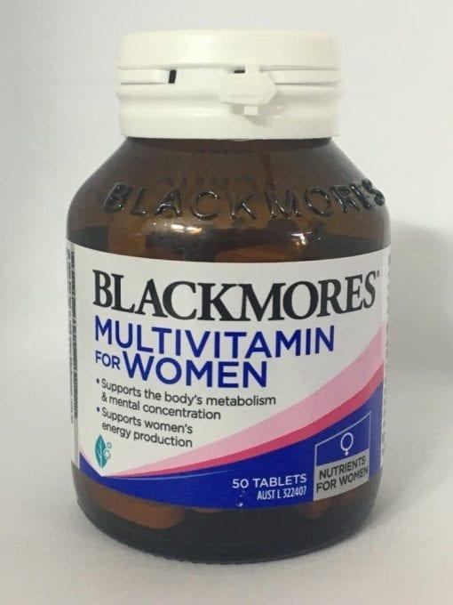 vitamin cho phu nu blackmores multivitamin for women 50 tablets kc