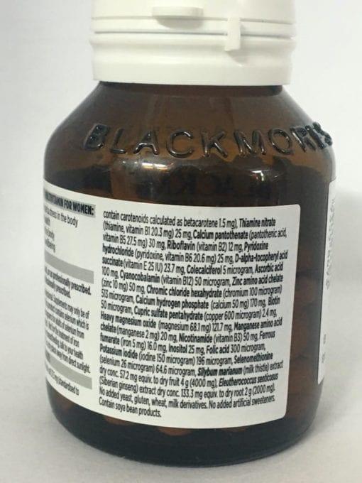 vitamin cho phu nu blackmores multivitamin for women 50 tablets ke