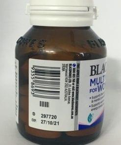 vitamin cho phu nu blackmores multivitamin for women 50 tablets kf