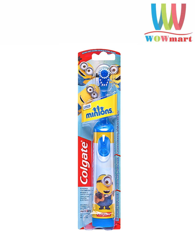 Bàn chải đánh răng trẻ em Colgate Minions dùng pin (màu xanh)