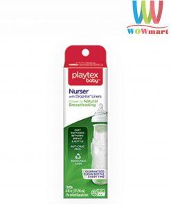 Bình sữa không đáy Playtex Baby Nurser Drop-Ins Liners 237-296ml kèm 5 túi sữa