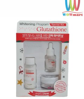 Bộ trắng da trị nám mini Angel's Liquid Whitening Program Glutathione Special Kit