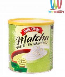 Bột trà xanh Matcha Caffe D'Vita Matcha Green Tea Drink Mix 540g