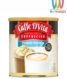 Cafe hòa tan Caffe D'Vita Cappuccino French Vanilla 453.6g