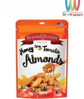 Hạnh nhân mật ong vị cà chua cay Beyond Nature Honey Spicy Tomato Almonds 78g