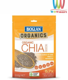 Hạt chia Úc Bioglan Organic Chia Seeds 500g