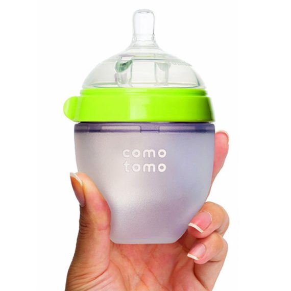 Hộp 2 bình sữa Comotomo 150ml siêu mềm