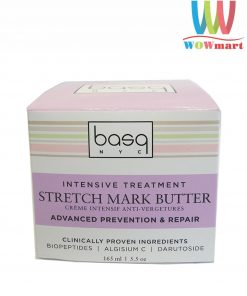 Kem trị rạn da cho bà bầu Basq Advanced Stretch Mark Butter 165ml